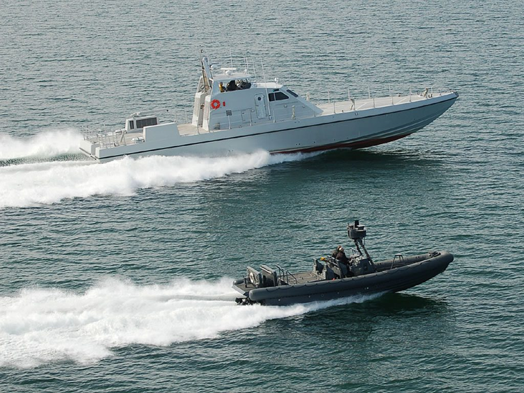 Coast gard patrol maritime security